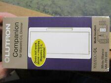 Lutron Maestro Multi Location Companion Dimmer Light Cont 600 Watt White