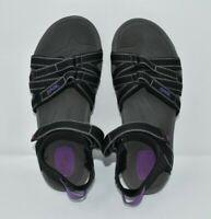 TEVA TIRRA 4266 Purple Gray Black Open Toe Hiking Sport Sandals Women's US 7 EUC