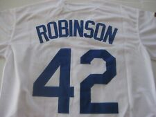 JACKIE ROBINSON BROOKLYN DODGERS SEWN JERSEY SIZE 44 LARGE  NWT