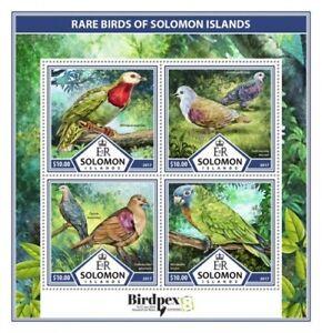 SOLOMON ISLANDS  2017 Rare birds S170223
