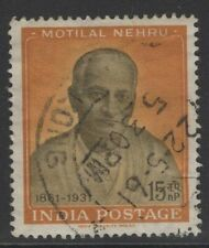 INDIA SG438 1961 BIRTH CENTENARY OF PANDIT MOTILAL NEHRU USED