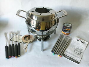 All-Clad 3Qt Fondue Pot Heavy Gauge Stainless Steel #59913 and more w BOX