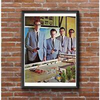 Russkit 1960's Slot Car Race Team Poster - Vintage Slot Car Racing