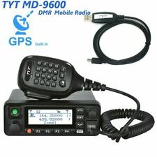 USA TYT MD-9600 Digital Radio Dual Band 50W GPS 1000Ch DMR VHF UHF Ships Free
