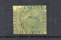 Australia - Western Australia 1861 6d FU