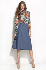 Nife Denim Skirt MIDI Ladies Euro 38 Medium Box1529 g