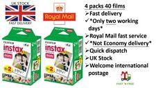 Fujifilm Fuji Instax Mini Colour instant film twin pack 40 shots (UK disptached)