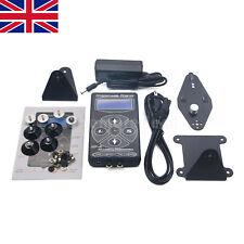 Professional Hurricane Digital LCD Tattoo Blue Screen Power Supply Black HP-2 UK