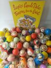 Vintage Surprise Charms Toys Vending Gumball Machine Capsules Lot of 6 (276)