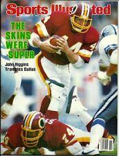 John Riggins Washington Redskins Sports Illustrated December 19, 1983 NO LABEL