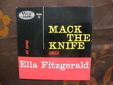 FRENCH EP REISSUE ELLA FITZGERALD - Mack The Knife +1 / Verve Records 70.334