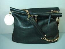 Chloe XL Vanessa Black Leather Handbag Shoulder Bag Cross Body Purse NEW $2175