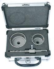 Mannesmann TCT Core Cortador del agujero Set 4 piezas 60/80 mm <> SDS alta calidad TUV GS
