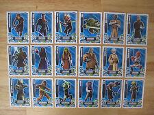 Star Wars Force Attax Karten Serie 4 (Basiskarten 1-192)  19 Stück auswählen