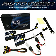 SLIM HID XENON KIT H1 H3 H4 H7 H8/H9/H11 Yellow/White/Blue/Dark Blue/Purple