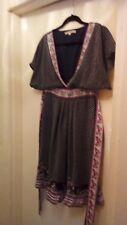 Pure Silk UTTAM BOUTIQUE butterfly dress size M