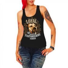 Women Vest Shirt Top American Staffordshire Terrier Dogs Stafford lists dogs