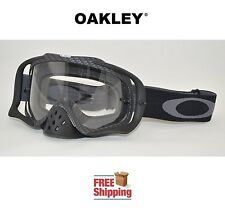 OAKLEY® CROWBAR® GOGGLES MX ATV MOTOCROSS MOTORCYCLE DIRT BIKE CARBON FIBER FLAT