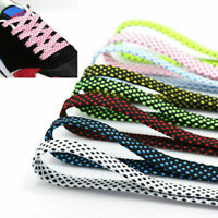 Adults Laces Shoestrings Shoe Flat Athletic Coloured Kids Shoelaces Bootlaces