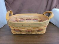 Longaberger 2001 Autumn Reflections SMALL DAILY BLESSINGS BASKET With Protector