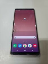 New listing Samsung Galaxy Note 9,128Gb,Sm-N960U, locked T-Mobile,Glass & Lcd Cracked :Aa052