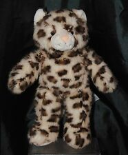 Build A Bear 16 Inch Leopard Cat / Kitten Soft / Plush Toy