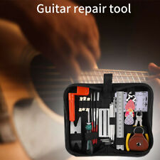 Full Set Pliers Electric Bass Luthier Repair Tools Guitar Care Kit