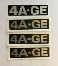 Toyota 4age Timing Belt Cover Decal Sticker AE86 Twin Cam
