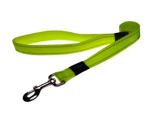 Rogz Reflective Dog Lead Lumberjack XL HL05 Dayglow Yellow Leash