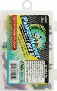 Leland Panfish Crappie Magnet Kit & Grubs  KIT - 85 Piece Made in USA