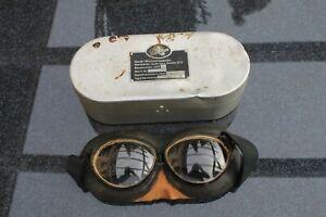 Windschutzbrille-Splitterschutz-2.WK -Luftwaffe  !!   RAR  !!!