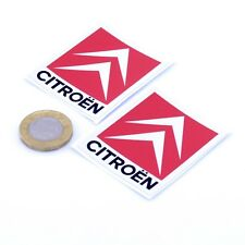 CITROEN Pegatinas Insignia Calcomanía Vinilo Coche 50mm x2 Race Racing Rally