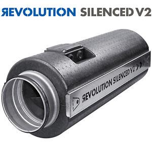 Revolution Stratos V2 New Silenced Fan Professional High Power Air Flow AC Fans