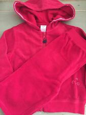 Whale Watching 2pc Red Terry Hoodie Jacket Capri Pants Set Girl 3T Nwts Gymboree