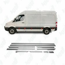 VW Crafter/Sprinter W906 Cromo transmisor De Puerta Lateral 10PCS S. Acero (chasis corto)