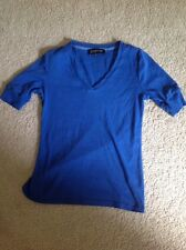 Jones New York signature Ladies Elbow Length Purple Tee Size Small