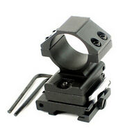 30mm Ring Flip to Side QD Scope Mount 20mm for AP ET Magnifier Hunting RS