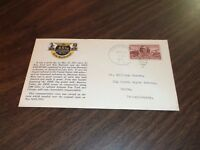 MAY 1951 ERIE RAILROAD 100TH ANNIVERSARY ENVELOPE PIERMONT, NY #3