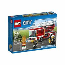 LEGO City Fire Ladder Truck 60107 Cool Toy For Kids NEW, Free Shipping
