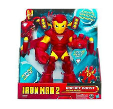 "Marvel Comics Iron Man 12"" Rocket figure with FX, CUTE for kids , avengers, hulk"