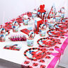 Ladybug Cat Birthday Party Supplies Filler Loot Bag Tableware Plates Cup Decor