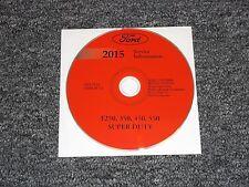 2015 Ford F450 Truck Shop Service Repair Manual DVD XL XLT Lariat 6.7L V8 Diesel