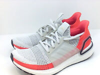 Adidas Mens Ultra Boost Hight Top Lace Up Trail Running, Orange/white, Size 11.0