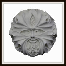 THE MALVERN GREEN MAN ROOF BOSS ~ GREENMAN WALL PLAQUE ~ GARDEN OR HOME UK MADE