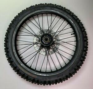 2000 Yamaha YZ125 YZ 125 OEM Front Wheel Tire Rim Hub 80/100-21 51M fits 98 - 01