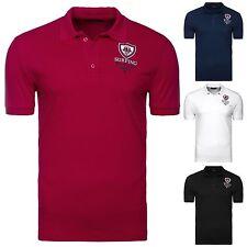 Figurbetonte Kurzarm Herren-Freizeithemden & -Shirts aus Baumwollmischung