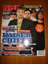 NME 2005 OCT 22 KAISER CHIEFS MAXIMO PARK GREEN DAY
