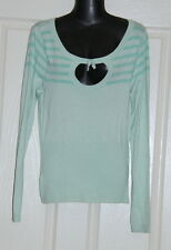 Womens size 10 green jumper made by MISS SHOP