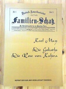 Karl May - Die Goliaths / Die Rose von Kahira, Reprint der Karl-May-Gesellschaft