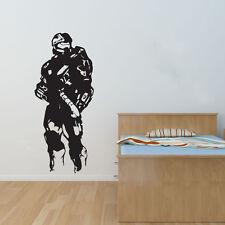 NUOVO Halo Master Chief murali Nero adesivi murali di grandi dimensioni 137cm x 58cm 4.5 piedi